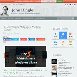 Top 5 Most Popular Multipurpose WordPress Themes