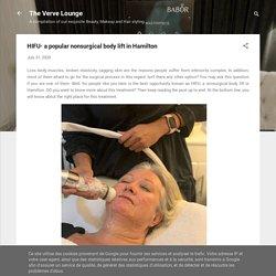 HIFU- a popular nonsurgical body lift in Hamilton