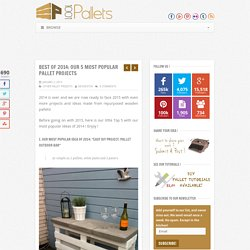Best Of 2014: Our 5 Most Popular Pallet Projects