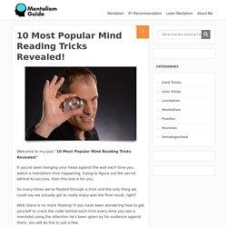 10 Most Popular Mind Reading Tricks Revealed!
