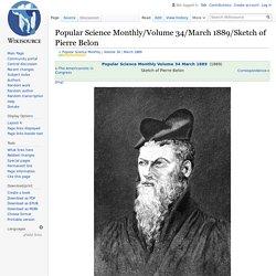 Popular Science Monthly/Volume 34/March 1889/Sketch of Pierre Belon