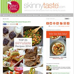 Top 25 Most Popular Skinnytaste Recipes 2014