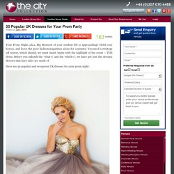 50 Popular UK Dresses for Prom Party Night
