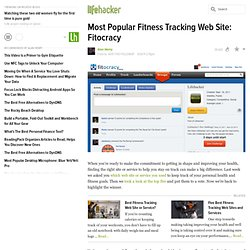 Most Popular Fitness Tracking Web Site: Fitocracy