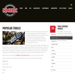Popular Trails » Nelson Mountain Bike Club