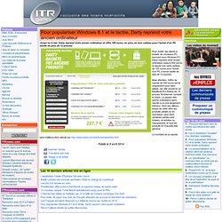 Pour populariser Windows 8.1 et le tactile, Darty reprend votre ancien ordinateur