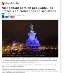 Nuit debout perd en popularité, les Français ne croient pas en son avenir