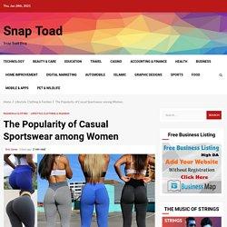 The Popularity of Casual Sportswear among Women
