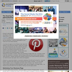 The Soaring Popularity of Pinterest [INFOGRAPHIC]
