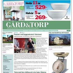 Populärt med byggnadsvård i Värmland - Gård och Torp