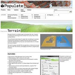 Populate:Terrain