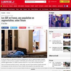 Les SDF en France, une population en augmentation, selon l'Insee - 19/11/2014 - ladepeche.fr