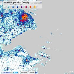 World Population Density Interactive Map