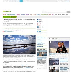 Urban population boom threatens Lake Titicaca | Environment