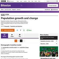 Population growth and change - CCEA - Revision 2 - GCSE Geography - BBC Bitesize