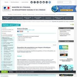 Exposition aux risques climatiques en France [carte]