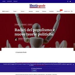 Radici del populismo e nuove teorie politiche