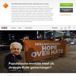 Populistische revolutie bleef uit; strategie Rutte gamechanger?