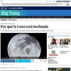 Por qué la Luna está inclinada