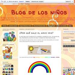 Blog de los niños: ¿Por qué sale el arco iris?