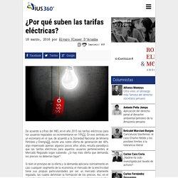 IUS360 - 18/3/16 ¿Por qué suben las tarifas eléctricas?