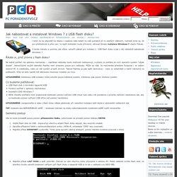 Jak nabootovat a instalovat Windows 7 z USB flash disku? - Počítačové poradenství a zpravodajství