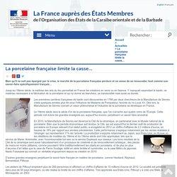 La porcelaine française limite la casse…