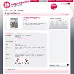 Revol Porcelaine - Agenda - Visites d'entreprises en Rhône-Alpes - TISTRA