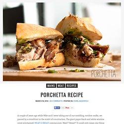 Porchetta Recette - je suis un blog de cuisine