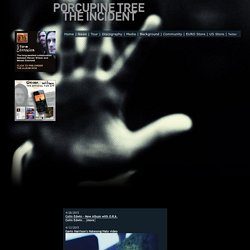 Porcupine Tree - Official Website