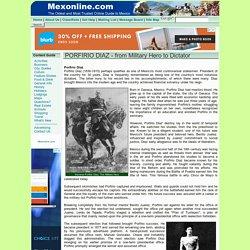 Porfirio Diaz - Biography - History Of Mexico