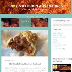 BBQ Pork Puff aka Char Siew Sou (叉燒酥) - Choy's Kitchen Adventures