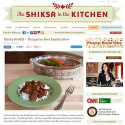 Marha Pörkölt - Hungarian Beef Paprika Stew Recipe