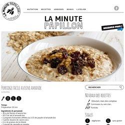 Porridge facile avoine amande