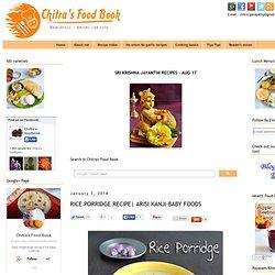 ARISI KANJI–BABY FOODS