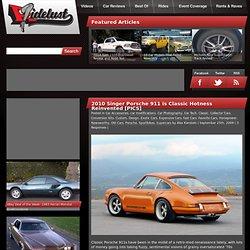 2010 Singer Porsche 911 is Classic Hotness Reinvented [PICS]