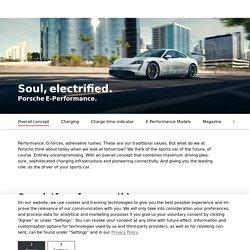 Porsche E-Performance - Porsche AG