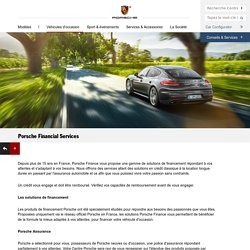 Porsche Financial Services - Porsche France