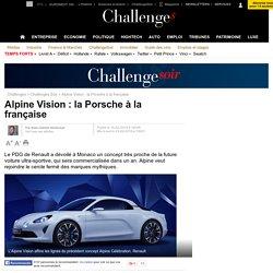 Avec Alpine, Carlos Ghosn crée le Porsche à la française