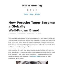Porsche Remapping