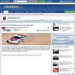 Porsche 911 GT3 Pikes peak, le record en vidéo