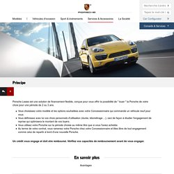 Porsche Principe - Porsche France