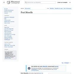 Wikipedia: Port Moselle