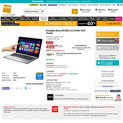 "Portable Asus R510CC-CJ1316H 15,6"" Tactile - Fnac.com - Ordinateur portable"