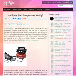 Are Portable Air Compressors Worthy?