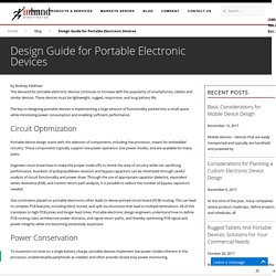 Design Guide for Portable Electronic Devices