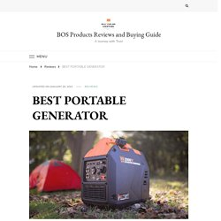 Best Portable Generator Buying Guide - 2021