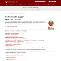 Firefox Portable Support