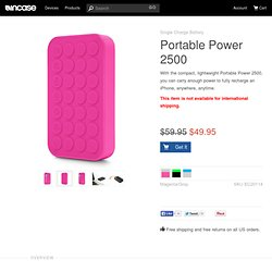 Portable Power 2500 by Incase