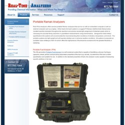 Portable Raman Analyzers